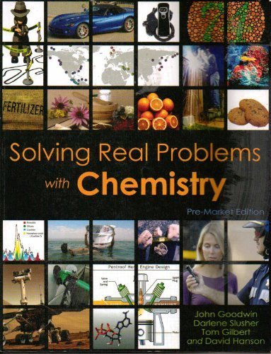 Solving Real Problems with Chemistry