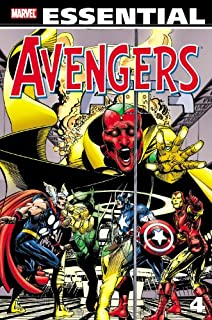 Image result for Essential Avengers vol. 4