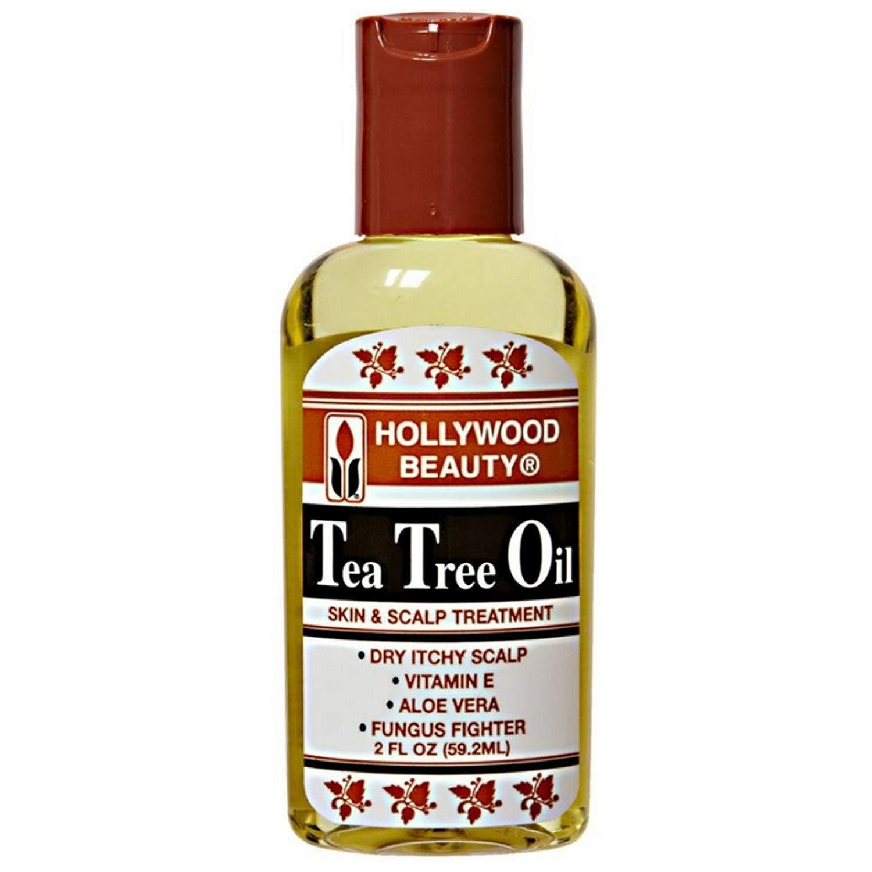 Hollywood Beauty Tea Tree Oil 2 Ounce (59ml) (2 Pack)