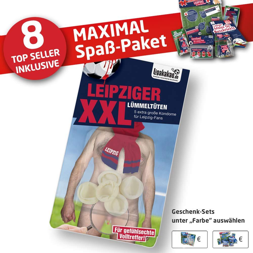 Leipziger Spezial-L/ÜMMELT/ÜTEN Mini-Kondome zum Schutz vor unerw/ünschter Vermehrung von RB-Fans! Safer Sex