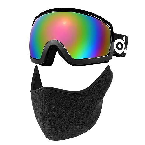 2cae8cb5489 Amazon.com   Odoland Ski Goggles with Ski Mask Set
