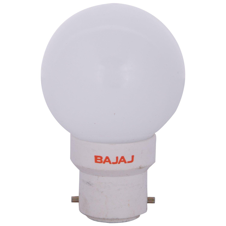 Buy Bajaj 0 5w Led Bulb White Online At Low Prices In India Amazon In