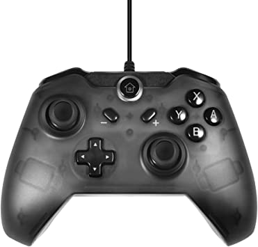 TUTUO Nintendo Switch Wired Mando Pro Controller, Controlador ...