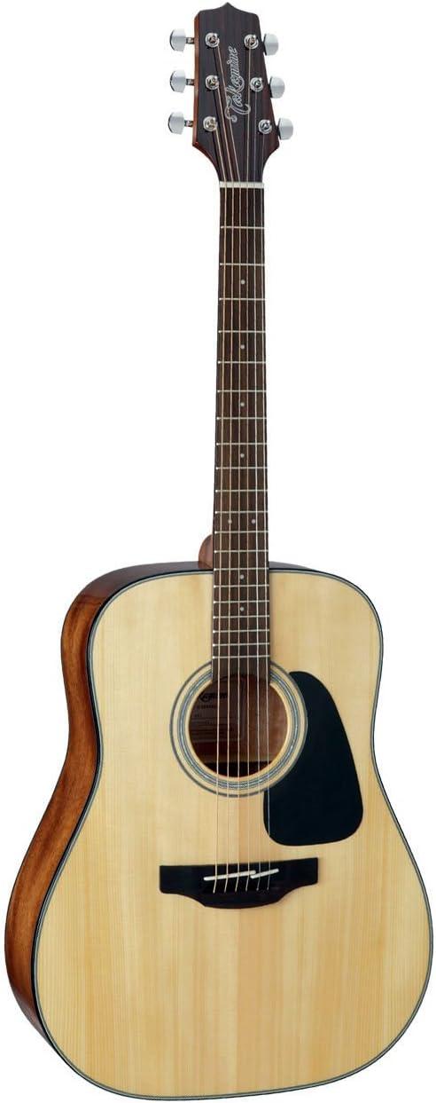 TAKAMINE G Serie Superior sólido dreadnought guitarra acústica brillante Natural