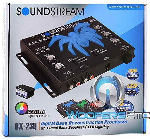 Soundstream BX‐23Q Bass Reconstruction Processor
