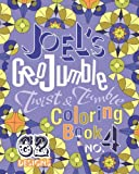 Joel's GeoJumble Twist and Tumble Coloring Book, No. 4, Joel David Waldrep, 0984686037