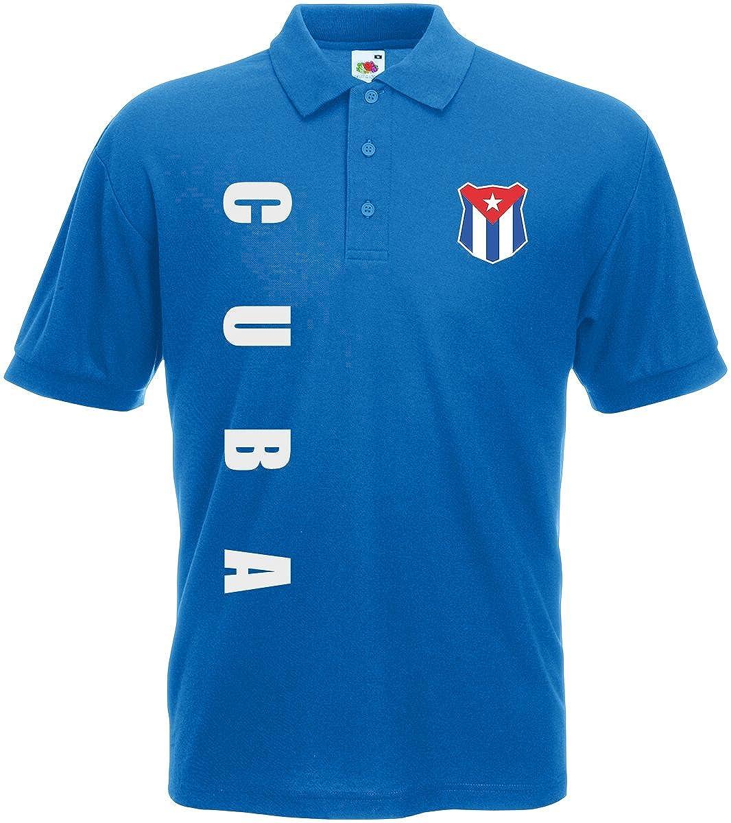 Kuba Cuba Polo-Shirt Trikot Wunschname Wunschnummer