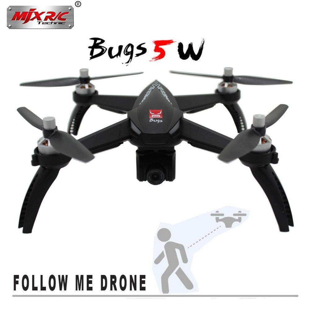 Enjoyall MJX Bugs 5W B5W 1080P 5G WiFi FPV Cámara GPS RC Drone ...