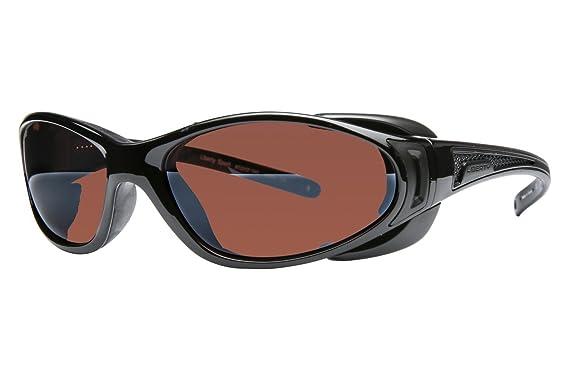 Amazon.com: LIBERT Sport Chopper anteojos de sol, brillante ...