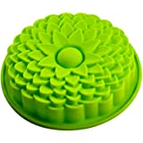 "Yunko 1 X 9"" Sunflower Bread Pie Flan Tart Birthday Party Cake Silicone Mold Pan Bakeware"