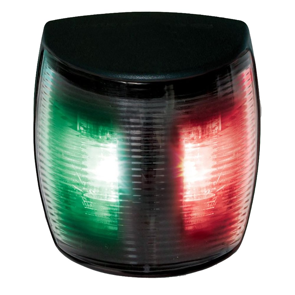Hella NaviLED 2nm BSH Bi-Color Pro LED Navigation Lamp, Black/Red/Green by HELLA