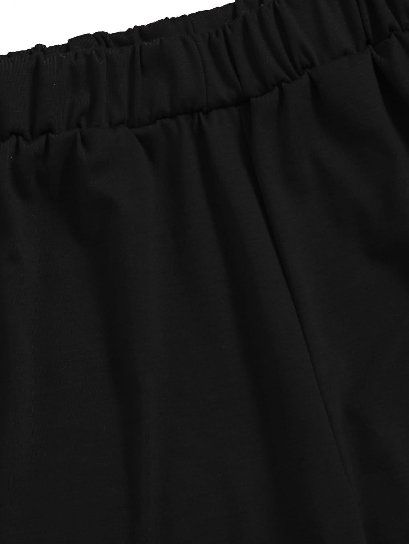 SweatyRocks Womens Nightwear Lingerie Strapy Crop Top and Shorts Pajama Set