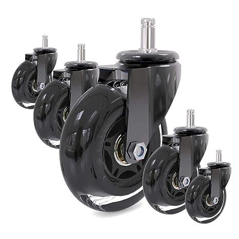 Amazon.com: Juego de ruedas de repuesto para silla de ...