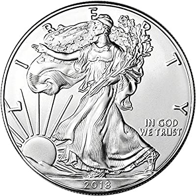 2018 American Silver Eagle (1 oz) $1 Brilliant Uncirculated US Mint