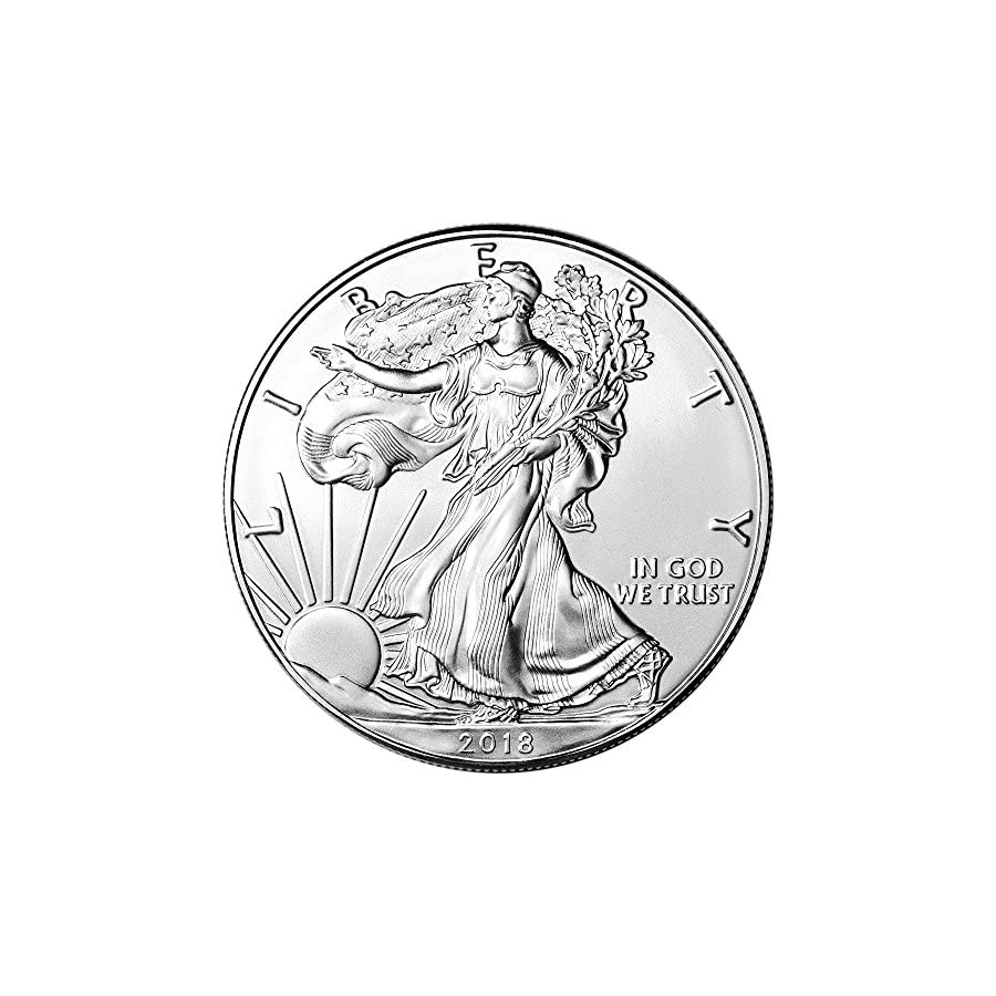 2018 American Silver Eagle (1 oz) US Mint Giftbox $1 Brilliant Uncirculated US Mint