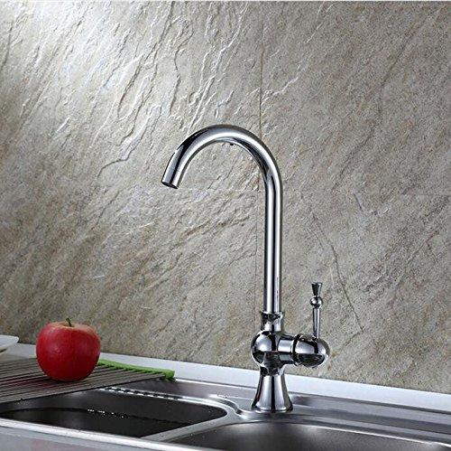 Mkkwp Küche Heißes Und Kaltes Wasser Wasserhahn 360 Rotierenden Messing Porzellan Mischer Wasserhahn Bad Kupfer Antike Spüle Wasserhahn