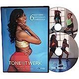 TONE N TWERK DVD: 6 Booty Toning & Twerk Dance Workouts For Women, 30 Min Each. Includes Exercise Programs For Beginners & Ad