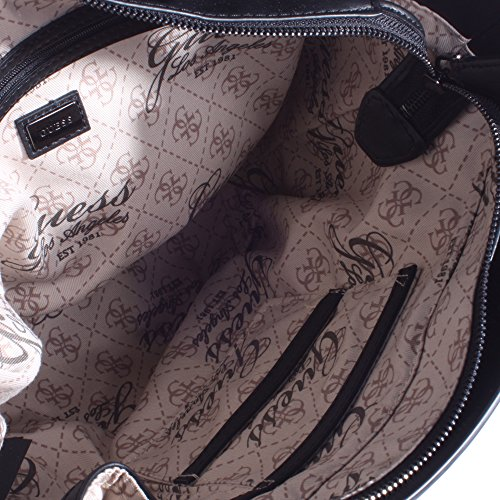 negro para Material Bolso negro de mujer asas Guess de Sintético f7vO6qzOx