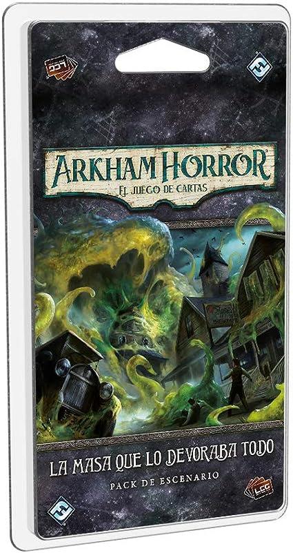 Fatansy Flight Games- Arkham Horror LCG - La Masa Que lo devoraba Todo - Juego de Cartas, Color (AHC45ES): Amazon.es: Juguetes y juegos