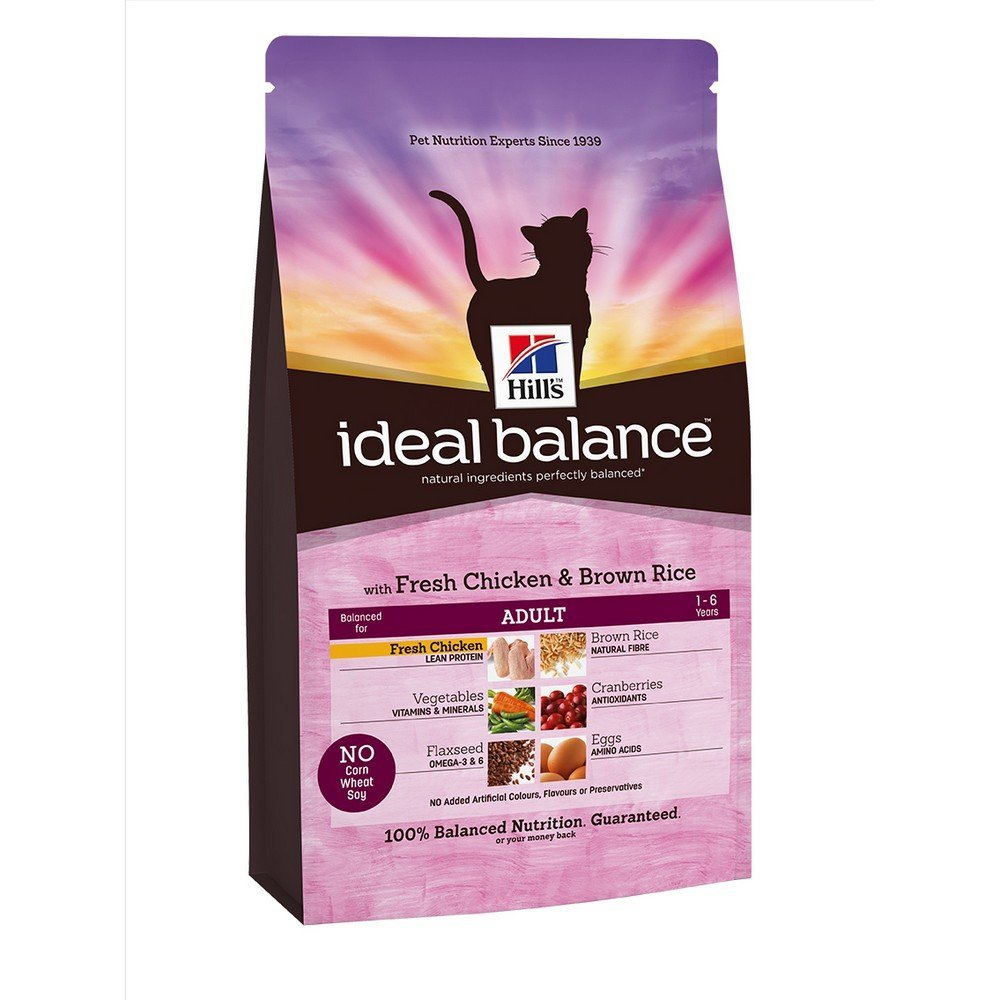 Hills science Pienso para gatos adultos hills ideal balance pollo y arroz integral 2 kg: Amazon.es: Productos para mascotas