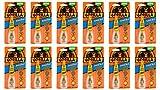 Gorilla 7500101-12 Super Glue Brush and Nozzle (12 Pack), 10 g, Clear
