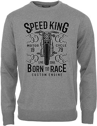 Speed King Born To Race Custom Engine Motorcycle Vintage ...