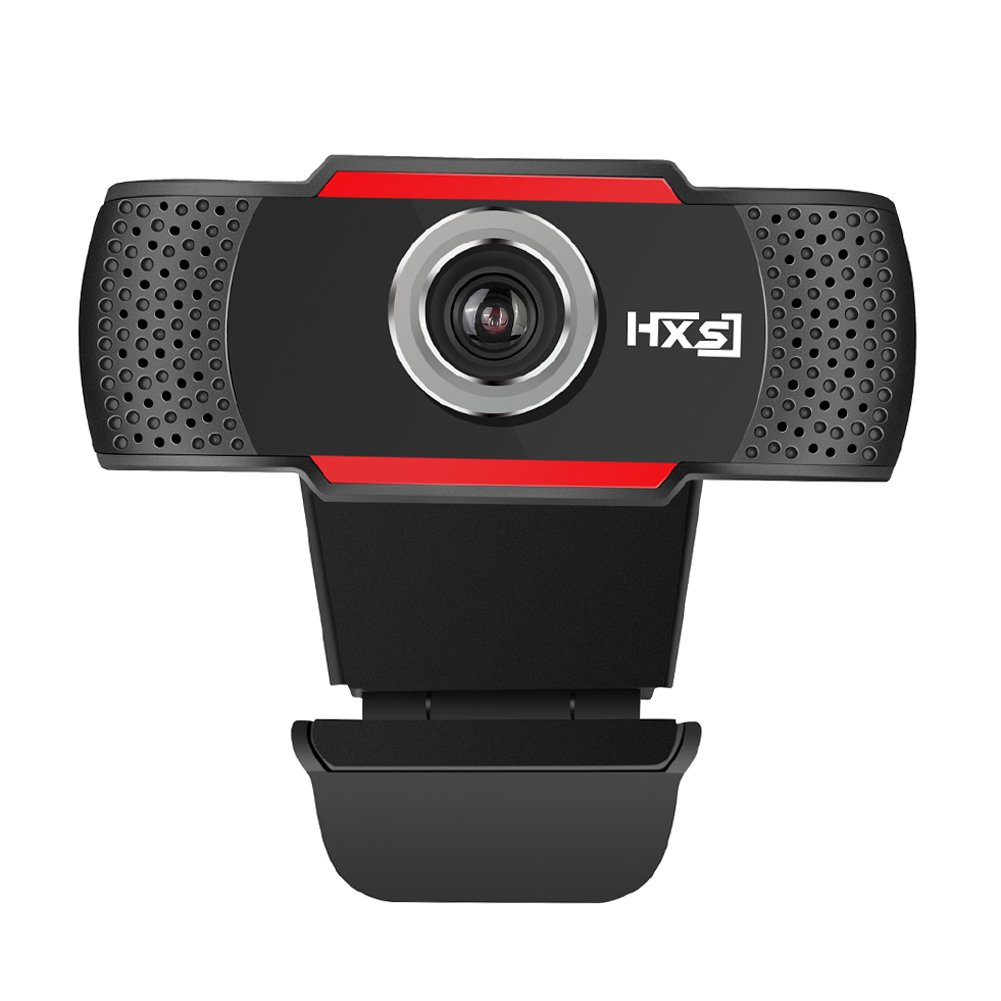 Alloet HD 720P Megapixels USB2.0 Webcam Manual Focus Computer Camera with Built-in Microphone for PC Laptop