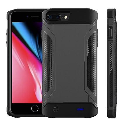 best service d3cae f21e6 Amazon.com: Scheam iPhone 6 Plus 6s Plus Case Battery, iPhone 7 Plus ...