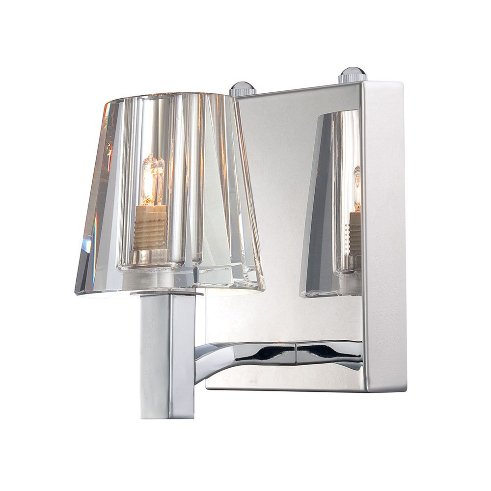 Alico Lighting BV2031-0-15 Vanity Chrome Finish with Clear Glass Shades