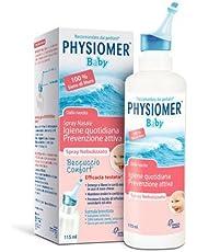 Physiomer Baby Hygiene Daily Active Prevention Nasal Spray 115ml
