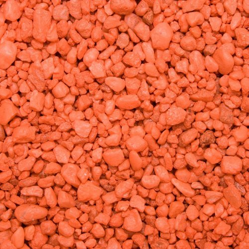Spectrastone Permaglo Orange Aquarium Gravel for Freshwater
