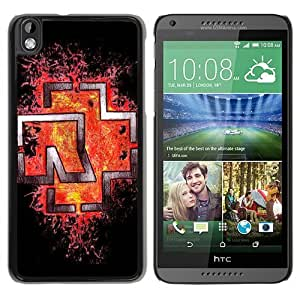 Rammstein Black Fantastic Unique Cusstomized HTC Desire 816 Case