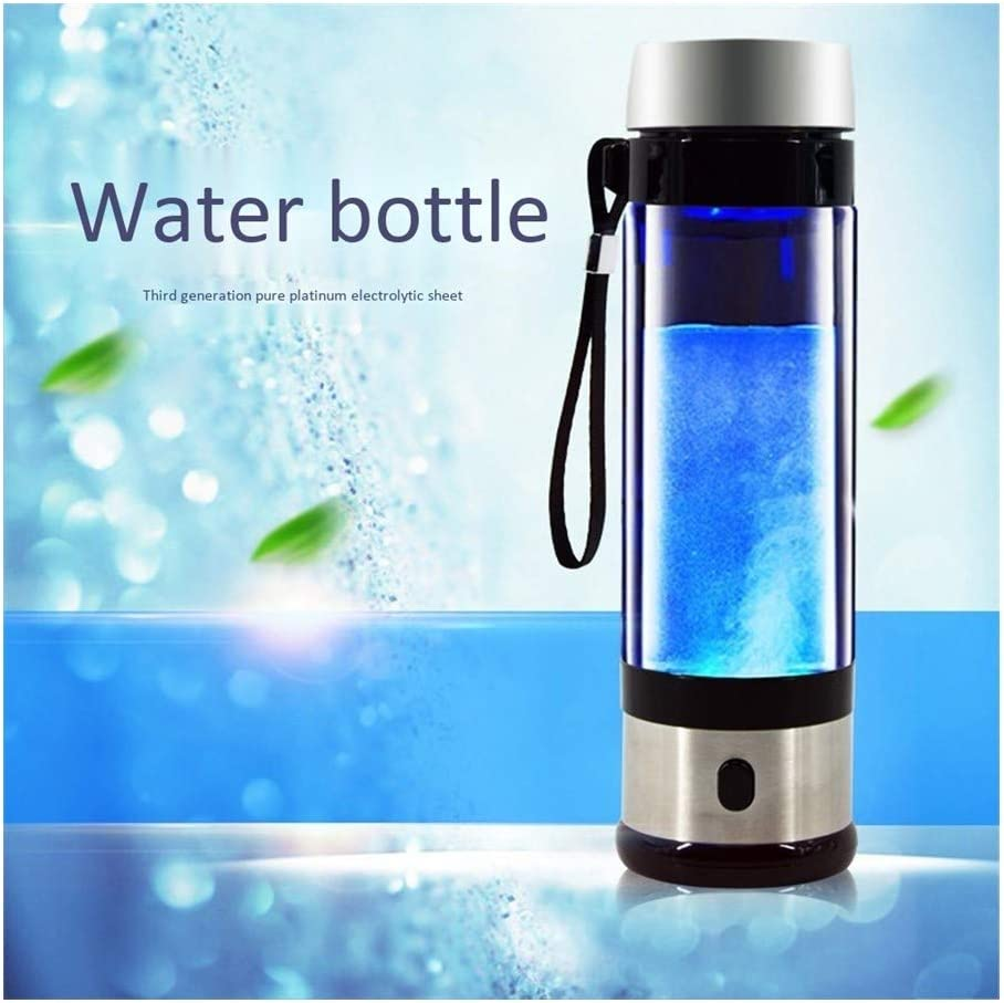 アルカリエネルギーカップ充電式リッチ水素水生成器電解エネルギー水素水イオナイザ水添ワッサーボトル350ミリリットル