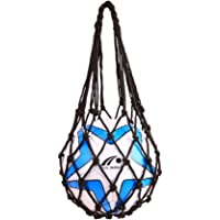 VORCOOL Sports Mesh Equipment Bag Volleyball Basketball Football Soccer Storage Net Bag Ball Carry Mesh for Single Ball…