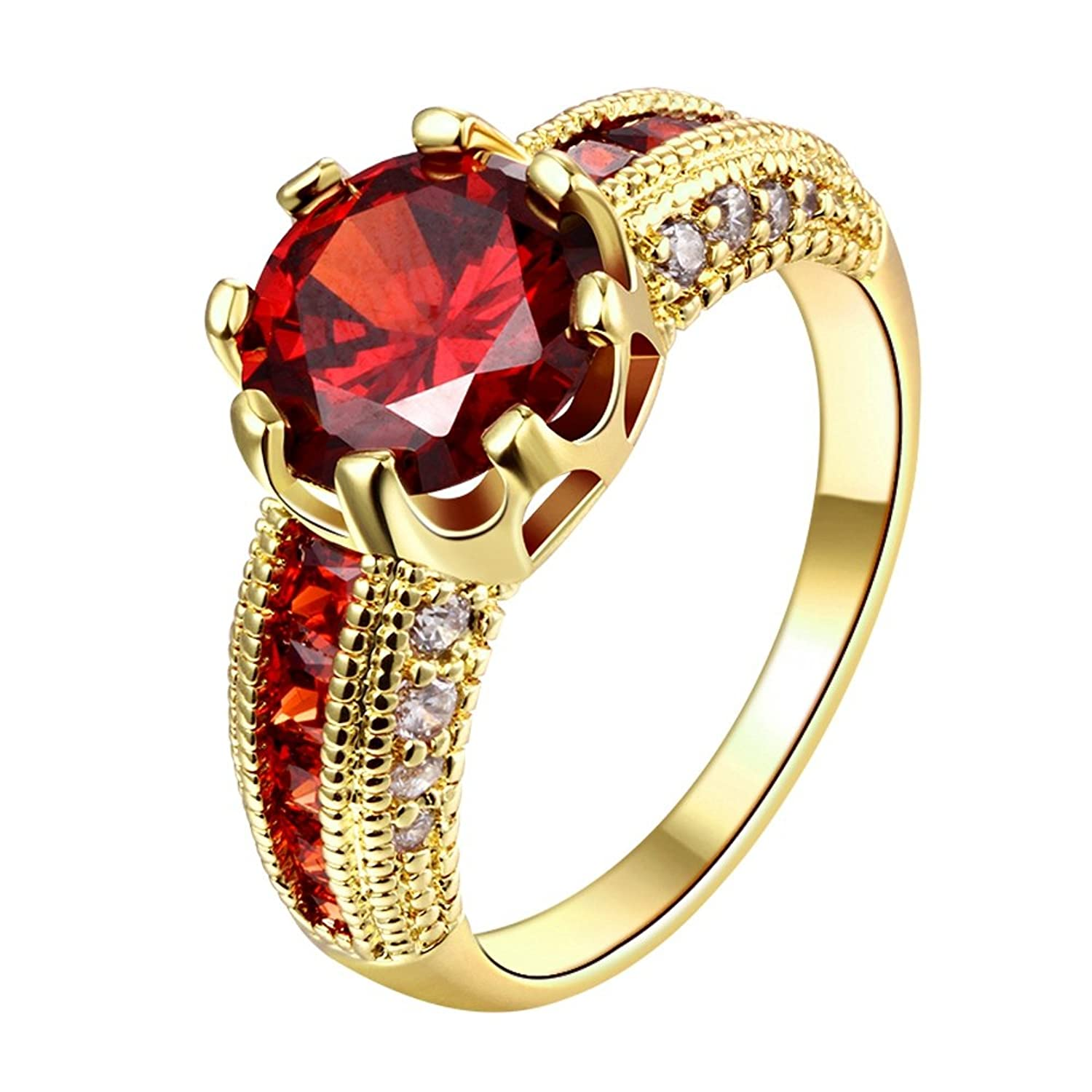 size s pin and for ring jewellery rings gold citrine orange women