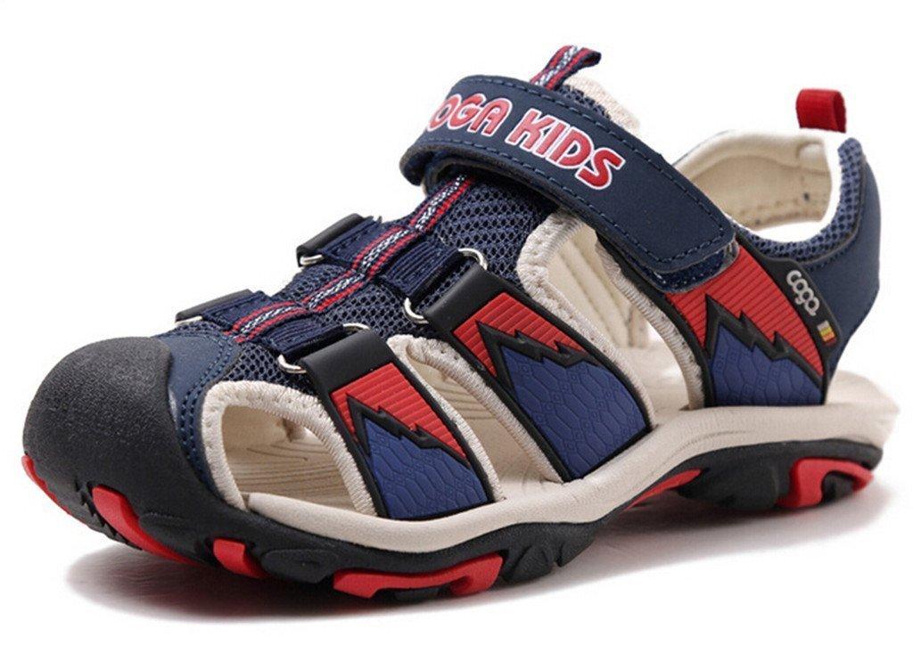 Zicoope Summer Athletic Sandals for Boys(Toddler/Little Kid/Big Kid) Dark Blue 3.5 M-35