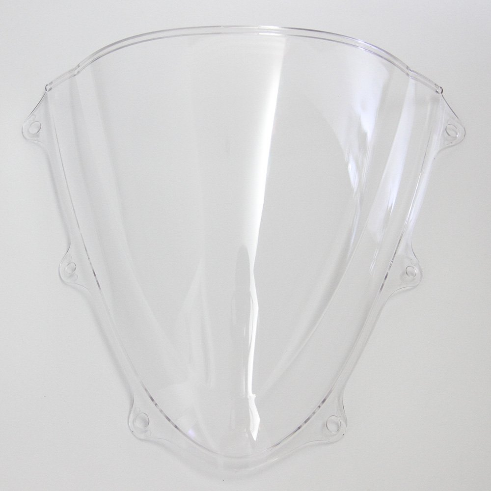 OyOCycle Windshield for Suzuki GSXR 600 750 K11 2011-2015 GSXR600 GSXR750 2012 2013 2014 Double Bubble Windscreen Wind Deflector Wind Splitter by OyOCycle