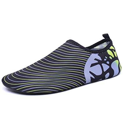 Women Men Aqua Socks Quick Drying Unisex Barefoot Water Shoes for Beach Swimming Surfing Yoga