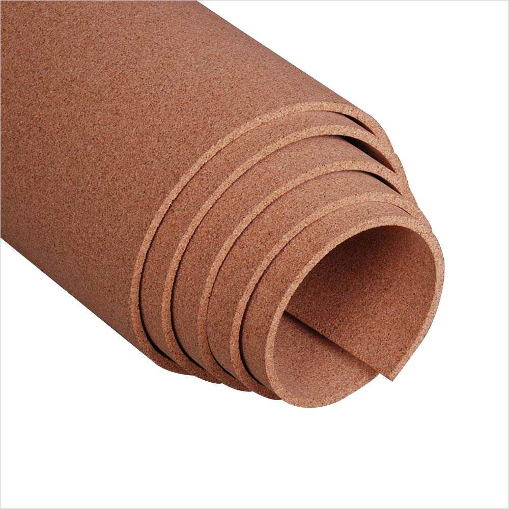 Manton Cork Roll 4 x 4 x 3//8 100/% Natural