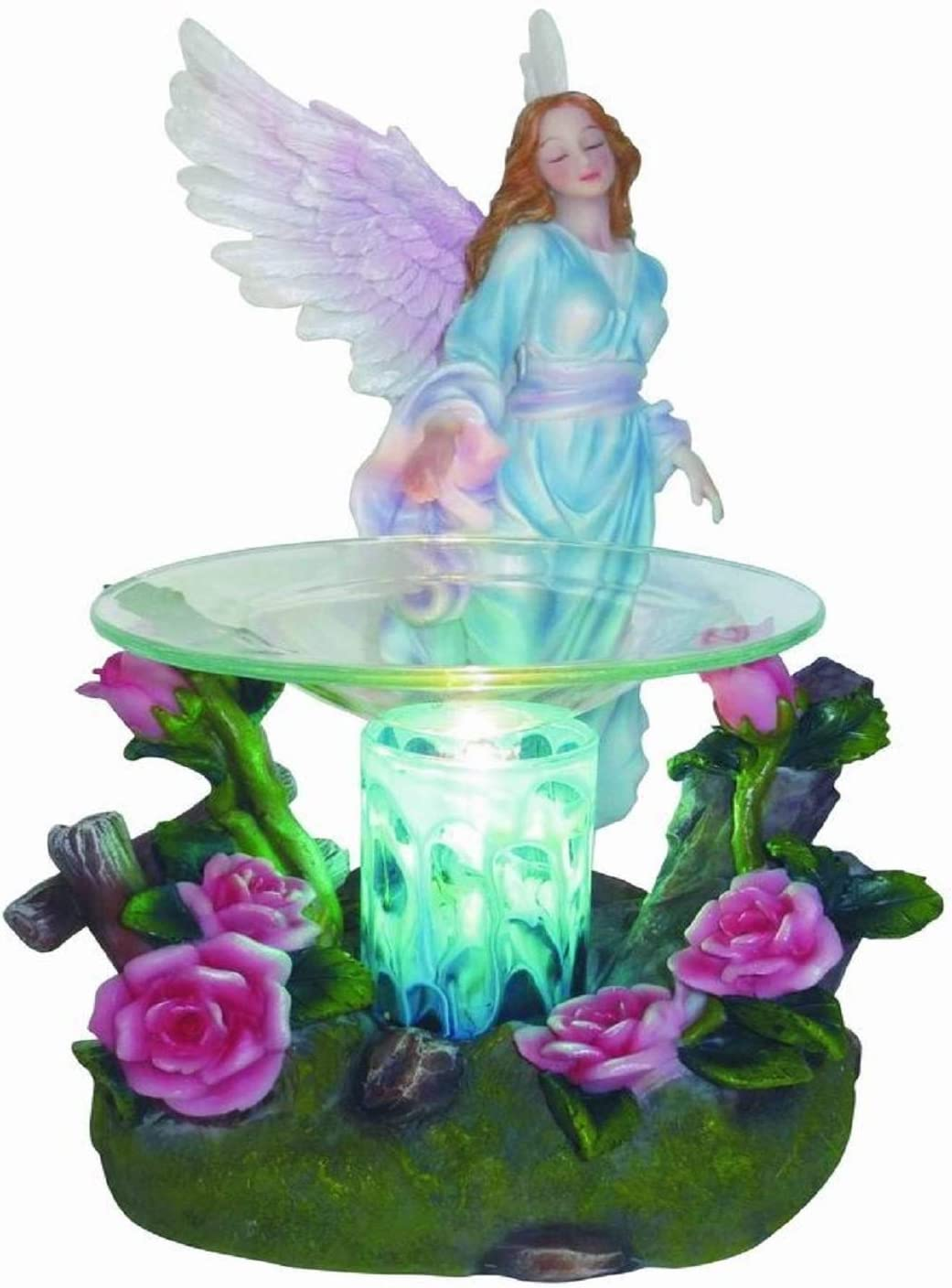 VCS Blue Angel Poly Resin Electric Tart/Oil Warmer with Dimmer Switch