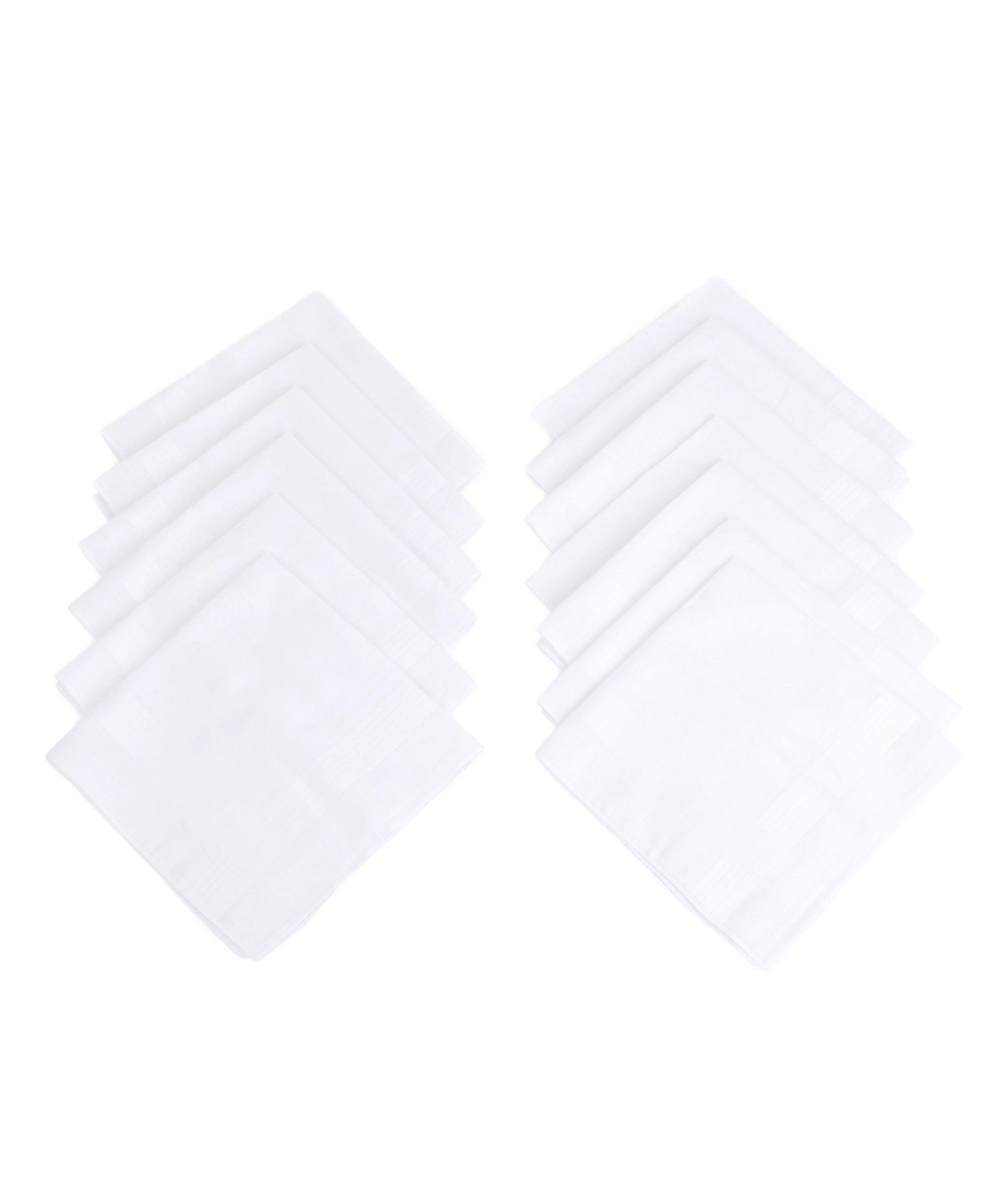Umo Lorenzo Bakers Dozen Cotton Handkerchiefs 13 pc Set