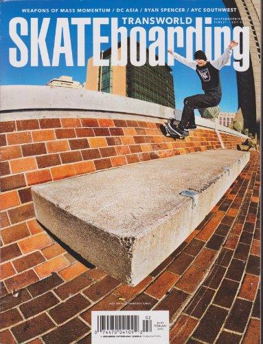 Transworld Skateboarding Magazine February 2014
