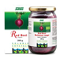 Flora Organic Red Beet Root Powder Soluble Crystals 7 Ounce - Concentrated Circulation...