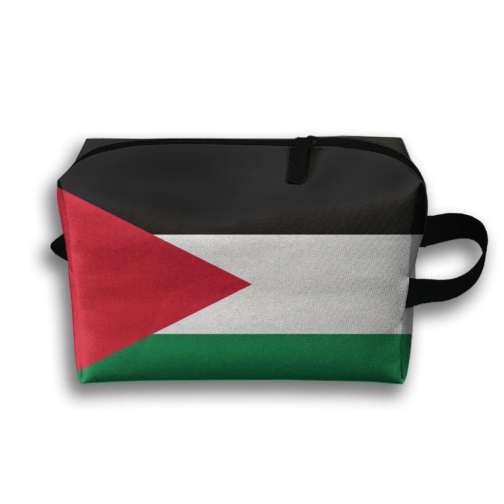 ODLS7 Flag Of Jordan Travel Multifunction Toiletry Organizers Business Bag Cosmetic Bag Women Men by ODLS7