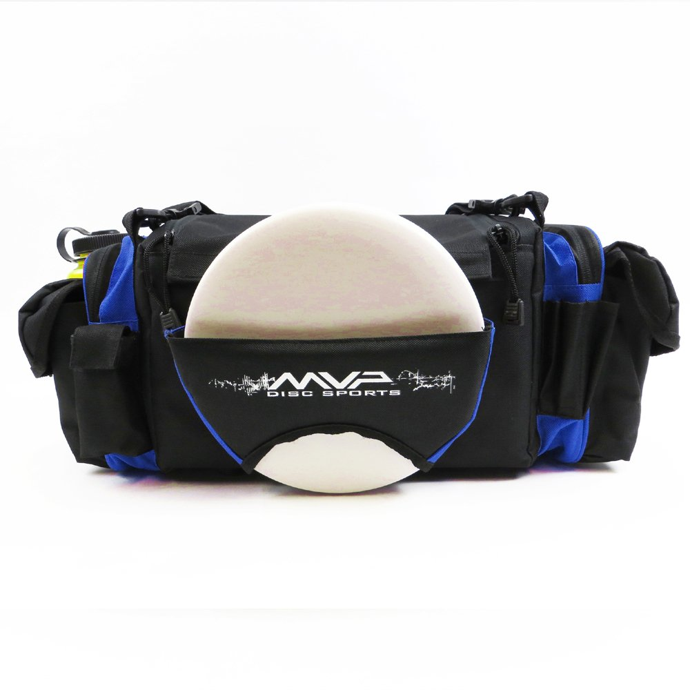 MVP Disc Sports Nucleus Tournament Disc Golf Bag - Royal