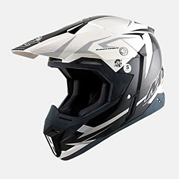 Cross de/Enduro casco – 102904348 – Casco Steel Negro/Gris XXL