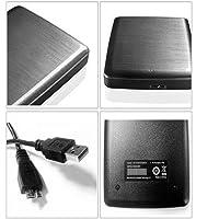 Disco Duro de Datos móvil Disco rígido Externo de 2 TB Disco Duro móvil de 2 TB de Gran Capacidad de Alta Velocidad