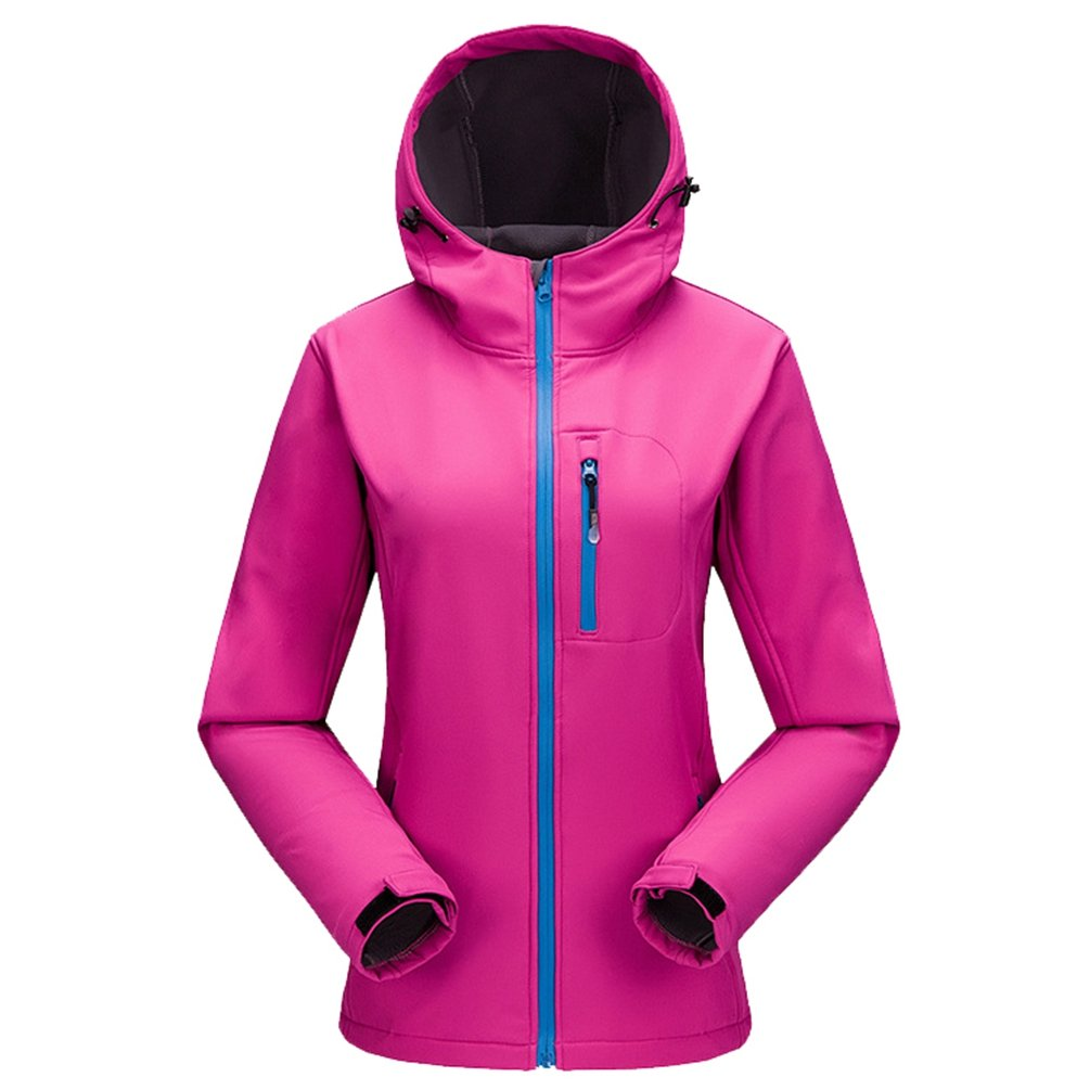 NiSeng Unisex Softshell Giacca impermeabile Trekking Giacca Fleece Funzione Giacca Inverno all'aperto