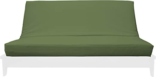 """Polyester 14/""""x21/"""" Plain Green Chenille  Chair Back"""