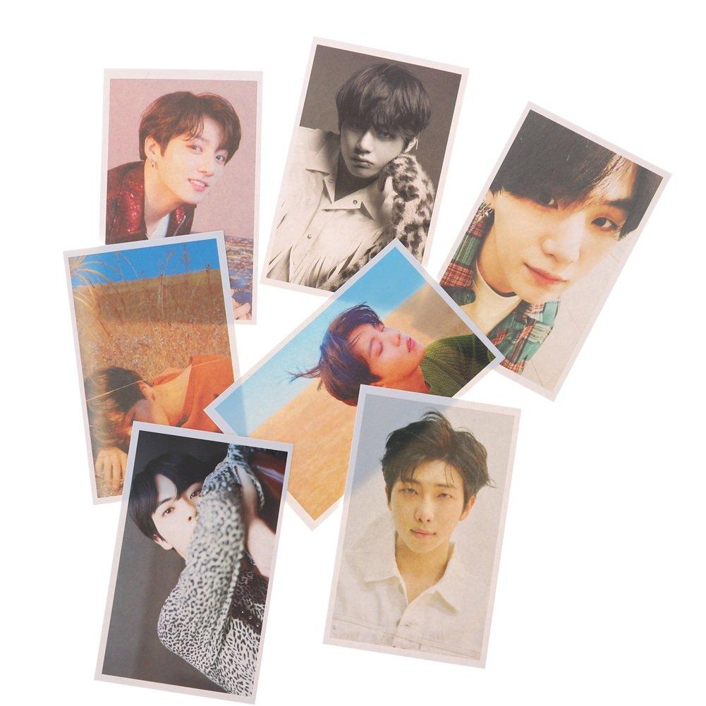 Skisneostype Lot de Cartes postales Kpop BTS Bangtan Boys cartes /à collectionner pour album photos cadeau id/éal pour A.R.M.Y FAKE LOVE-2